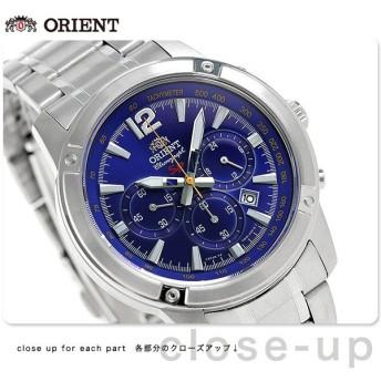 31日まで!さらに+24倍でポイント最大25倍 オリエント 逆輸入 海外モデル 日本製 クロノグラフ STW01004D0 腕時計