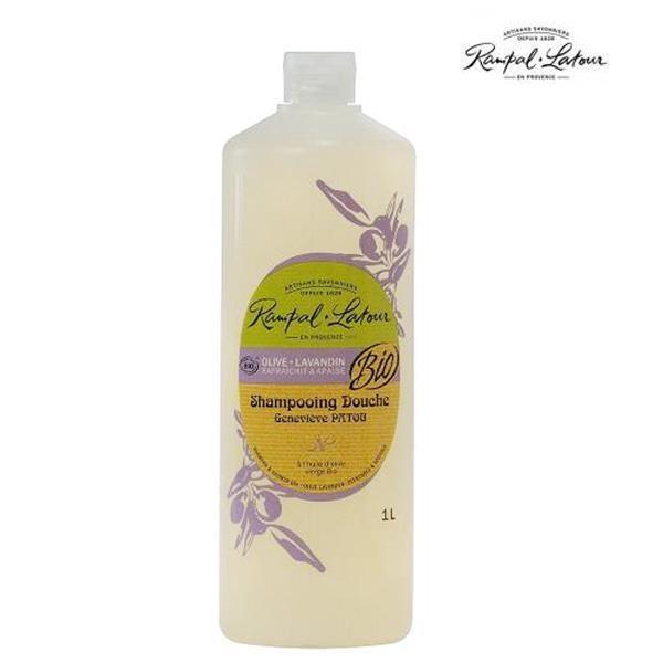 【南法香頌】歐巴拉朵 2in1薰衣草橄欖洗髮沐浴精(1L/瓶)