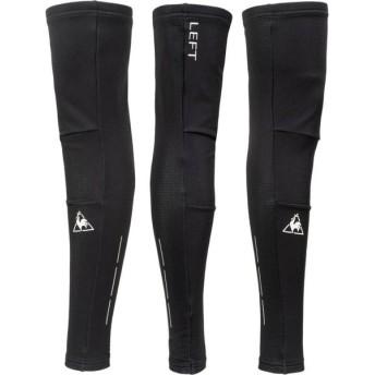 le coq sportif(ルコック) Thermal Leg Cover/起毛レッグカバー サイクル メンズ QCMOGX02 BLK ブラック M