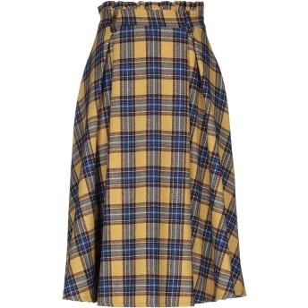 《セール開催中》VANESSA SCOTT レディース 7分丈スカート オークル M アクリル 45% / ウール 25% / ポリエステル 25% / 指定外繊維 5%