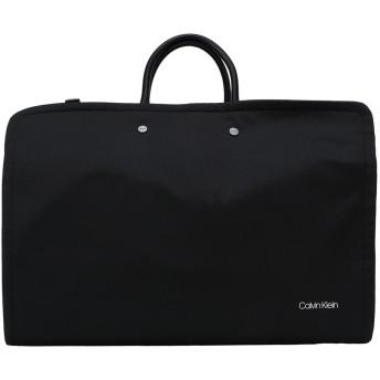 《セール開催中》CALVIN KLEIN メンズ 旅行バッグ ブラック ナイロン 100% CK UNITED NYLON GRMN