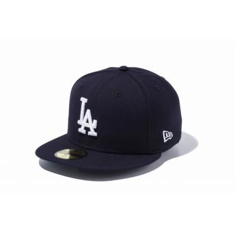 NEW ERA ニューエラ 59FIFTY ロサンゼルス・ドジャース ネイビー × ホワイト ベースボールキャップ キャップ 帽子 メンズ レディース 7 (55.8cm) 11308595 NEWERA