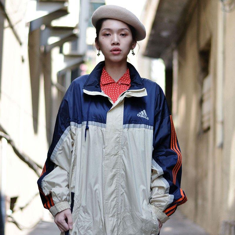 adidas sports coat  |  古著防風運動外套