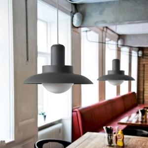 【obis】北歐吊燈-小款(三色)黑色