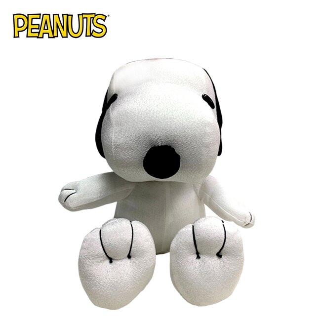 【正版授權】史努比 坐姿玩偶 娃娃 玩偶 擺飾 Snoopy PEANUTS - 070318