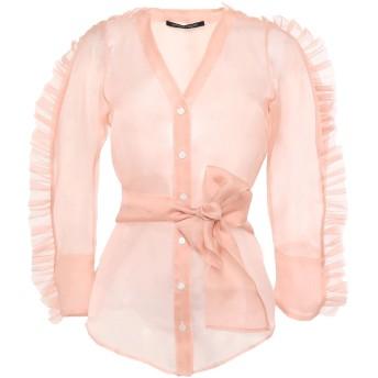 《セール開催中》ANTONINO VALENTI レディース シャツ ピンク 40 シルク 100%