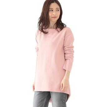 (デミルクス ビームス)Demi-Luxe BEAMS ニット セーター ミラノリブ ニットチュニック レディース ピンク ONE SIZE