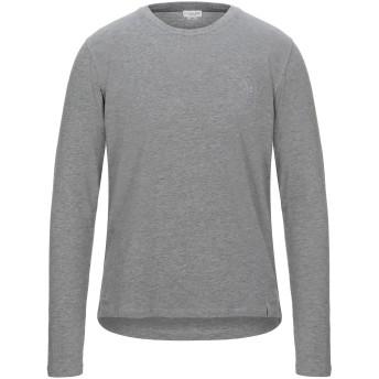 《セール開催中》U.S.POLO ASSN. メンズ T シャツ グレー M コットン 98% / ポリウレタン 2%
