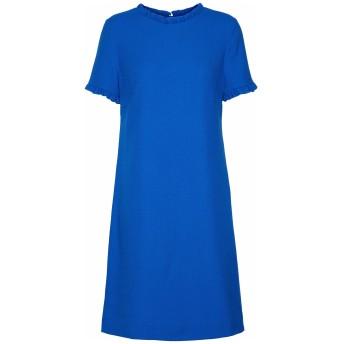 《セール開催中》GOAT レディース ミニワンピース&ドレス ブライトブルー 8 ウール 100%