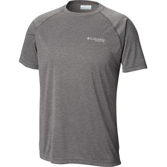 Columbia(コロンビア) トップス Tシャツ Columbia Men's Terminal Tackle Heather S Charcoal H メンズ [並行輸入品]