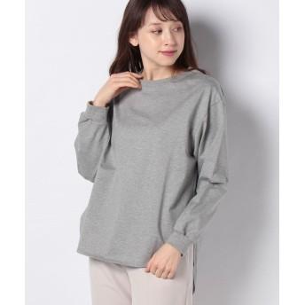 ルーニィ ボリュームロングスリーブTシャツ レディース グレー 38 【LOUNIE】