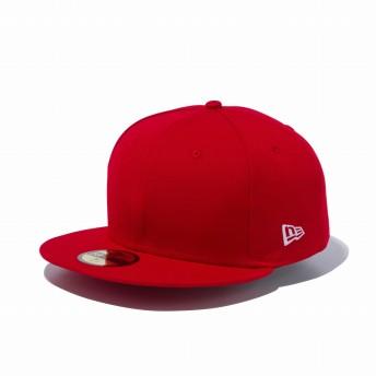 NEW ERA ニューエラ 59FIFTY ベーシック スカーレット ホワイトフラッグ ベースボールキャップ キャップ 帽子 メンズ レディース 7 (55.8cm) 12336681 NEWERA