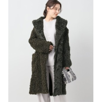 JOURNAL STANDARD L'ESSAGE 【3.1PHILLIP LIM/3.1 フィリップ リム】FAUX SHERLING COAT:コート カーキ XS