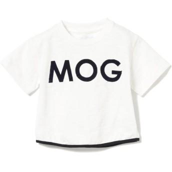 (こどもビームス/コドモビームス)ARCH & LINE / MOG 5分袖 Tシャツ 20(80~90cm)/ WHITE