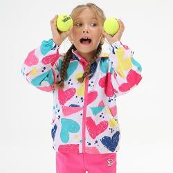 【聖伯納 St.Bonalt】迷彩防風單層衝鋒衣–童款 8124 (愛心迷彩)