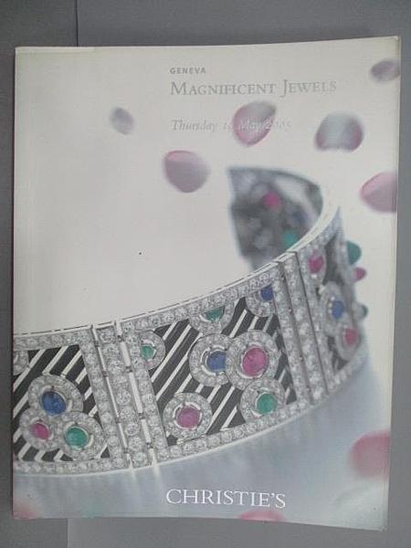 【書寶二手書T6/收藏_FO4】Christie s_Magnificent Jewels_2005/5/19