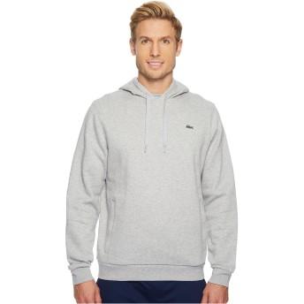 LACOSTE(ラコステ) アウター パーカー・スウェット Sport Pullover Hoodie Fleece Silver Chi メンズ [並行輸入品]
