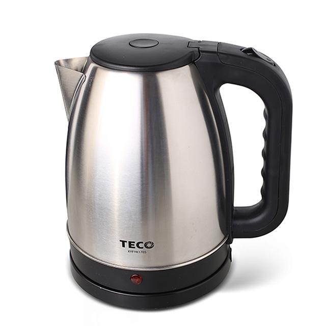 TECO 東元1.8L大容量304不鏽鋼快煮壺 XYFYK1705 免運