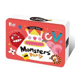 《 小康軒 Kids Crafts 》PLAY AGAIN 親子桌遊 - 怪獸派對 Monsters party