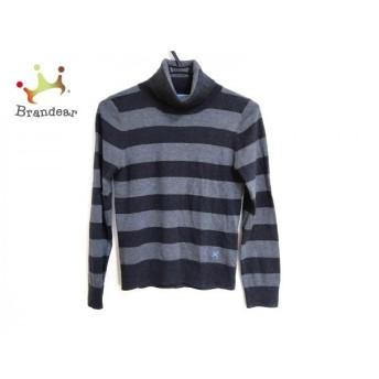 ギルドプライム GUILD PRIME 長袖セーター サイズ34 S レディース 美品 ダークグレー×グレー 新着 20200310