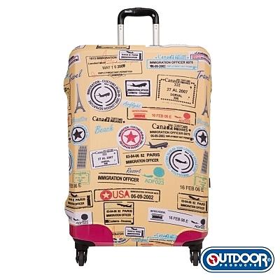 OUTDOOR-行李箱保護套-L-26~29吋(黃) ODS15B0LYL