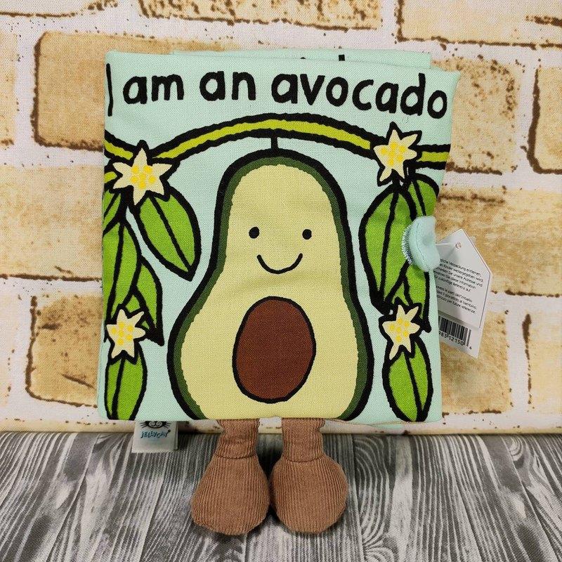Jellycat Avocado Book 酪梨書