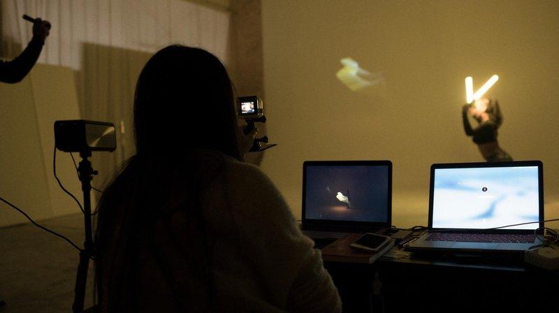 光繪實時軟體套裝 新媒體藝術表演 光繪攝影表演 舞蹈軟體