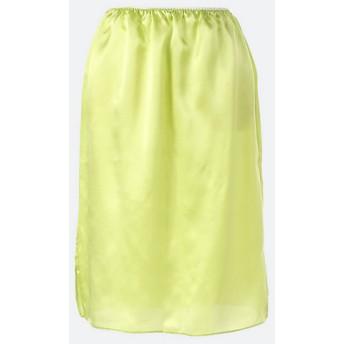 <the virgins> silk slit skirt【三越・伊勢丹/公式】