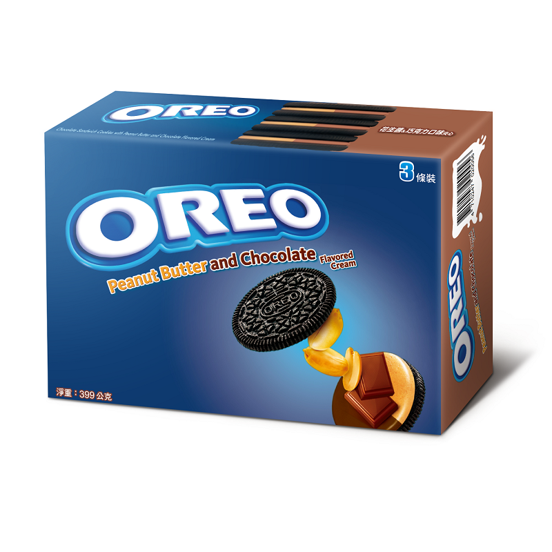 奧利奧花生醬巧克力夾心餅乾-399g