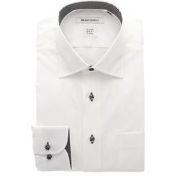 【THE SUIT COMPANY:トップス】▽【SUPER EASY CARE】ワイドカラードレスシャツ シャドーストライプ 〔EC・FIT〕