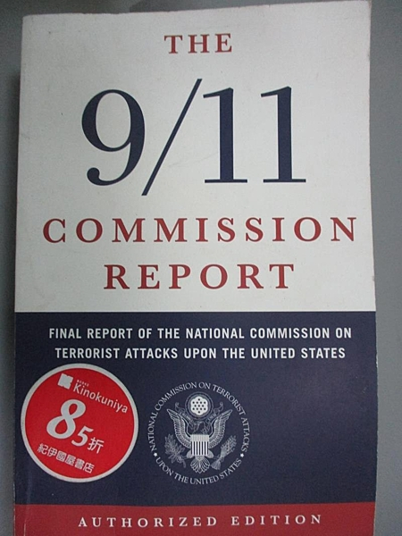 【書寶二手書T8/社會_GHI】9/11 Commission Report: Final Report of the…