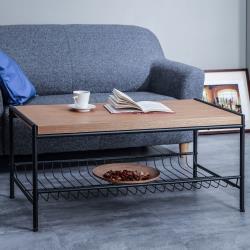 【TKY】工業風茶几桌/長桌/桌板厚3.5cm(台灣製)