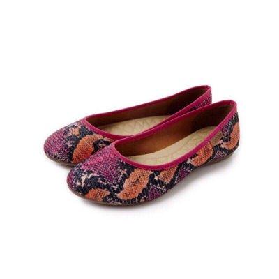 《現貨》Grendha 巴西鞋 巴西尺寸37(經典舒適斜紋布娃娃鞋-桃紅色)