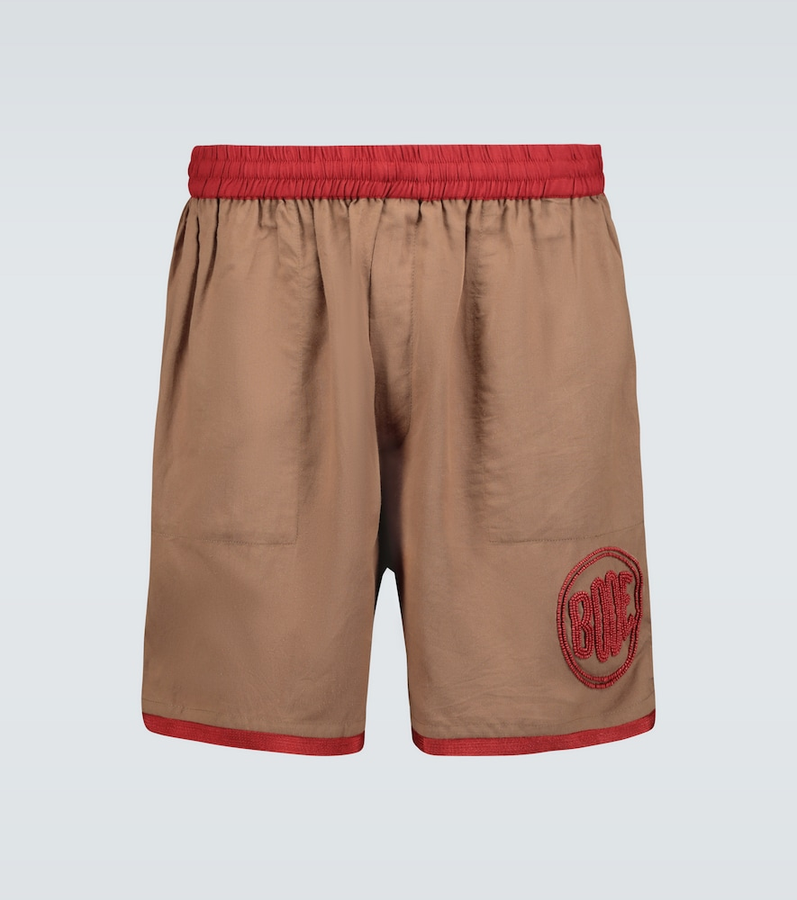 Beaded rugby shorts