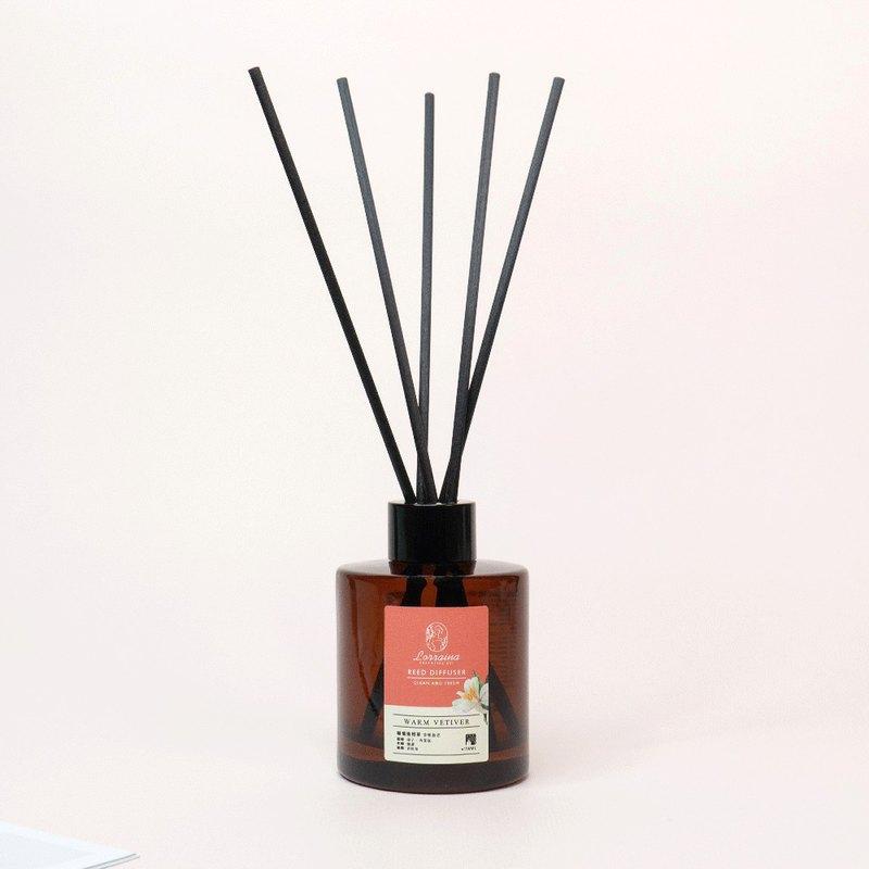擴香水竹 | 溫暖柑橘香 × 暖橘香根草