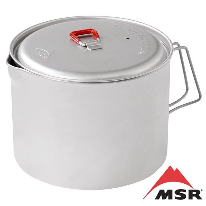 【MSR 美國】Titan 鈦鍋 登山鍋 2L 登山野炊 (09529)