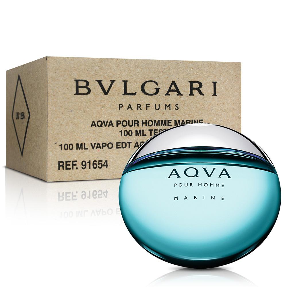 Bvlgari寶格麗 AQVA 活力海洋能量男性淡香水-Tester 100ml