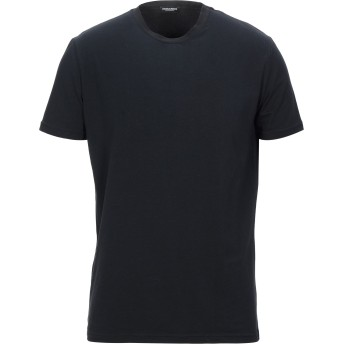 《セール開催中》DSQUARED2 メンズ アンダーTシャツ ブラック M コットン 95% / ポリウレタン 5%