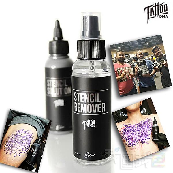 台灣第一紋身品牌【TATTOO DNA】轉印膠&去除液 微刺青紋眉修眉大小圖