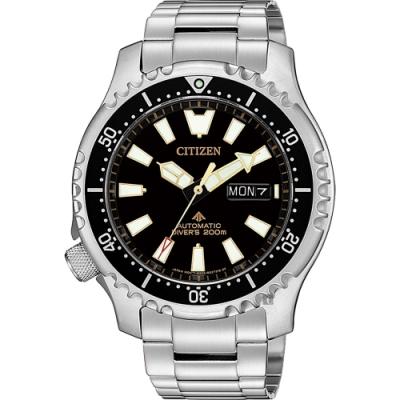 CITIZEN 星辰 PROMASTER 黑豹特遣隊機械錶 NY0090-86E