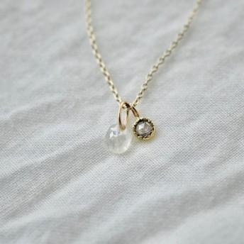 Little treasures diamonds necklace / Sweet pea