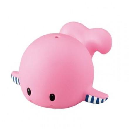 Toyroyal 樂雅 軟膠洗澡玩具 鯨魚