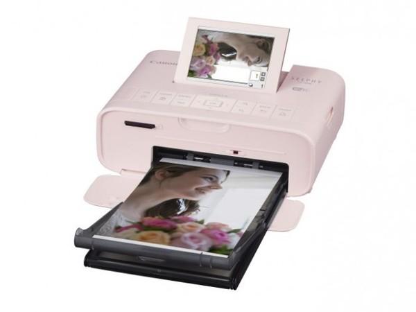 Canon 佳能 SELPHY CP1300 Wi Fi 相片印表機 粉色