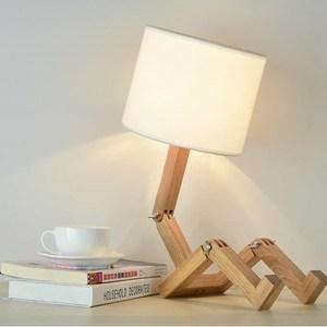【obis】皮諾丘人形桌燈