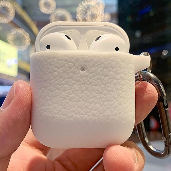蘋果Airpods Pro保護套1/2代三無線耳機充電倉盒硅膠軟殼掛鉤潮二 - 風尚3C