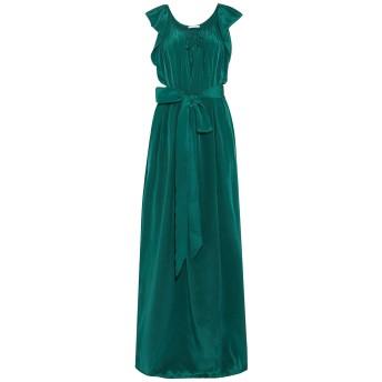《セール開催中》KALITA レディース ロングワンピース&ドレス エメラルドグリーン M/L シルク 50% / レーヨン 50%