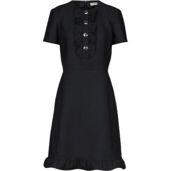 《セール開催中》TORY BURCH レディース ミニワンピース&ドレス ブラック 0 ポリエステル 53% / ウール 43% / ポリウレタン 4%