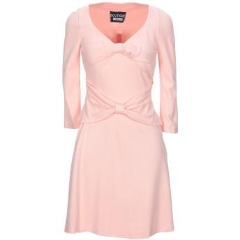 《セール開催中》BOUTIQUE MOSCHINO レディース ミニワンピース&ドレス ピンク 38 紡績繊維