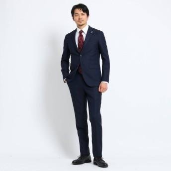 タケオ キクチ TAKEO KIKUCHI 【Sサイズ〜】檜垣紋 スーツ (ネイビー)