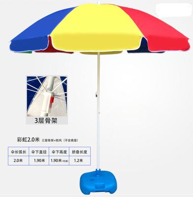 戶外遮陽傘 超級大傘大號遮陽傘太陽傘大型戶外擺攤商用廣告傘定制logo庭院傘『SS1315』